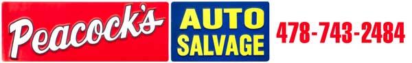 Peacock Auto Salvage >> Parts Search Peacock S Auto Salvage